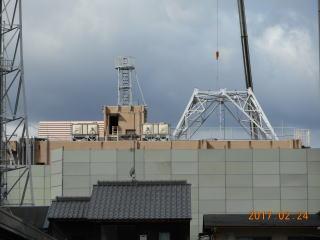 NHK京都放送局の解体その後